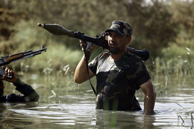 Shiiten im Kampf gegen ISIS Foto: HAIDAR HAMDANI/ Getty Images