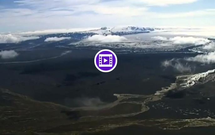 Live Stream: Ausbruch des Vulkans Bardarbunga auf Island (Video)
