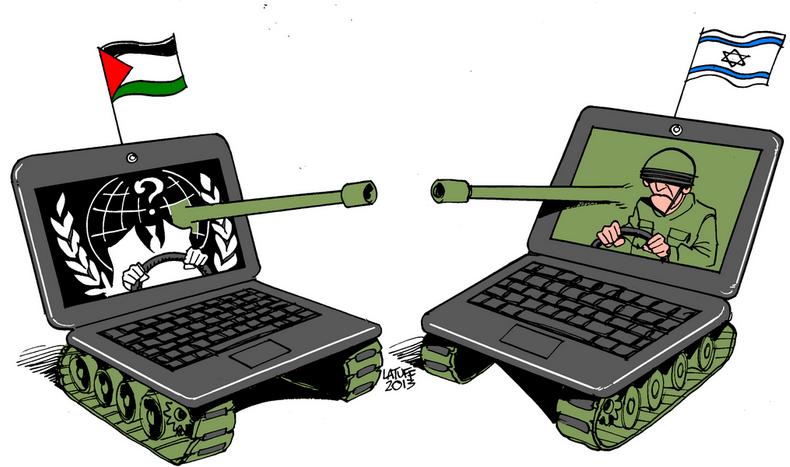 """""""Israel du bist schwach"""": Anonymous hackt israelische Schlüssel-Webseiten"""
