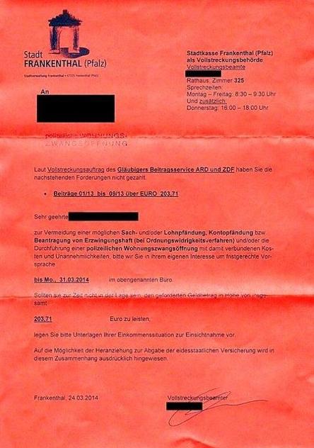 Zdf Ard Skandal Gericht Erklärt Gez Vollstreckung Für Ungültig Video
