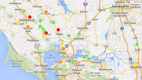 Kalifornien: Erdbeben der Stärke 6 – Das stärkste Beben seit 25 Jahen (Video+Tweets)