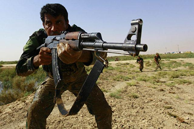 Schiitischer Kämpfer im Irak. Foto: HAIDAR HAMDANI / AFP / Getty Images