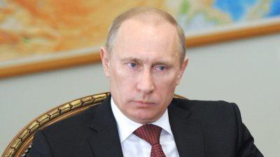 """Vladimir Putin: """"Russland Sanktionen werden nach hinten losgehen"""""""