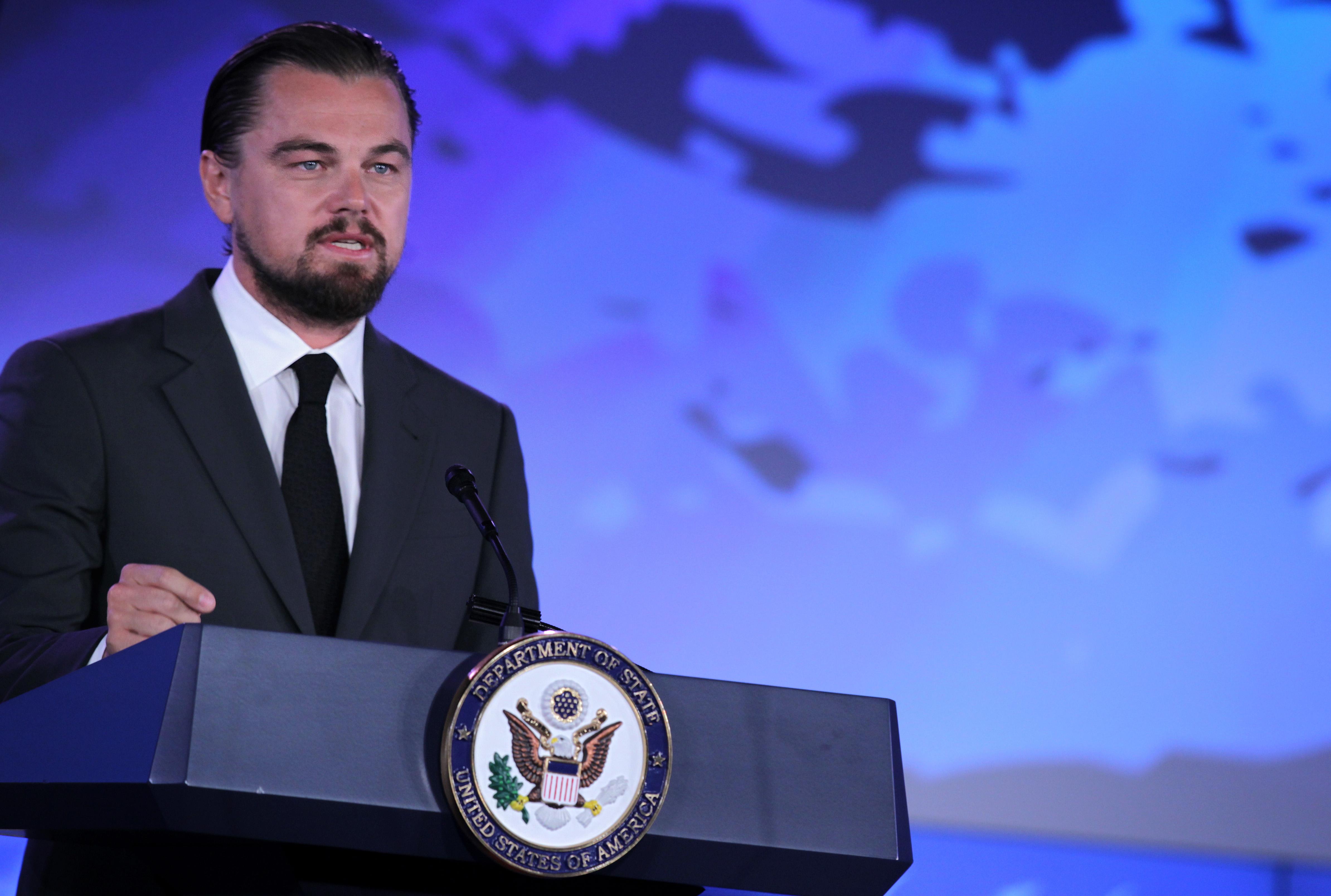 Leonardo DiCaprio bekämpft Klimawandel mit Karate-Kicks