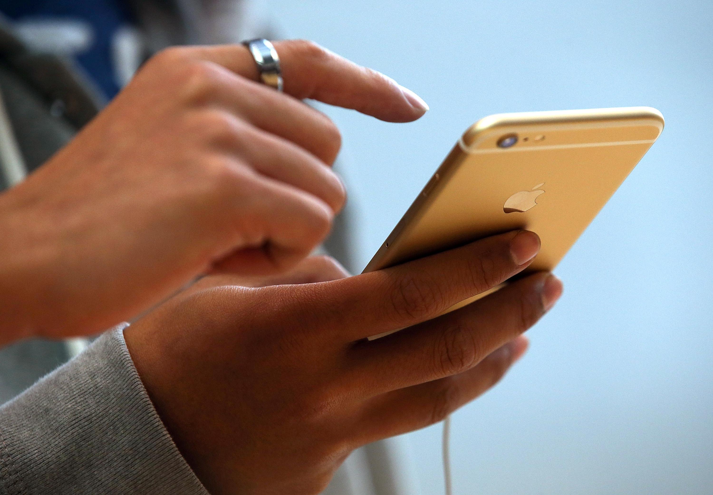 iPhone 6 Bruch-Tests – Display zersplittert