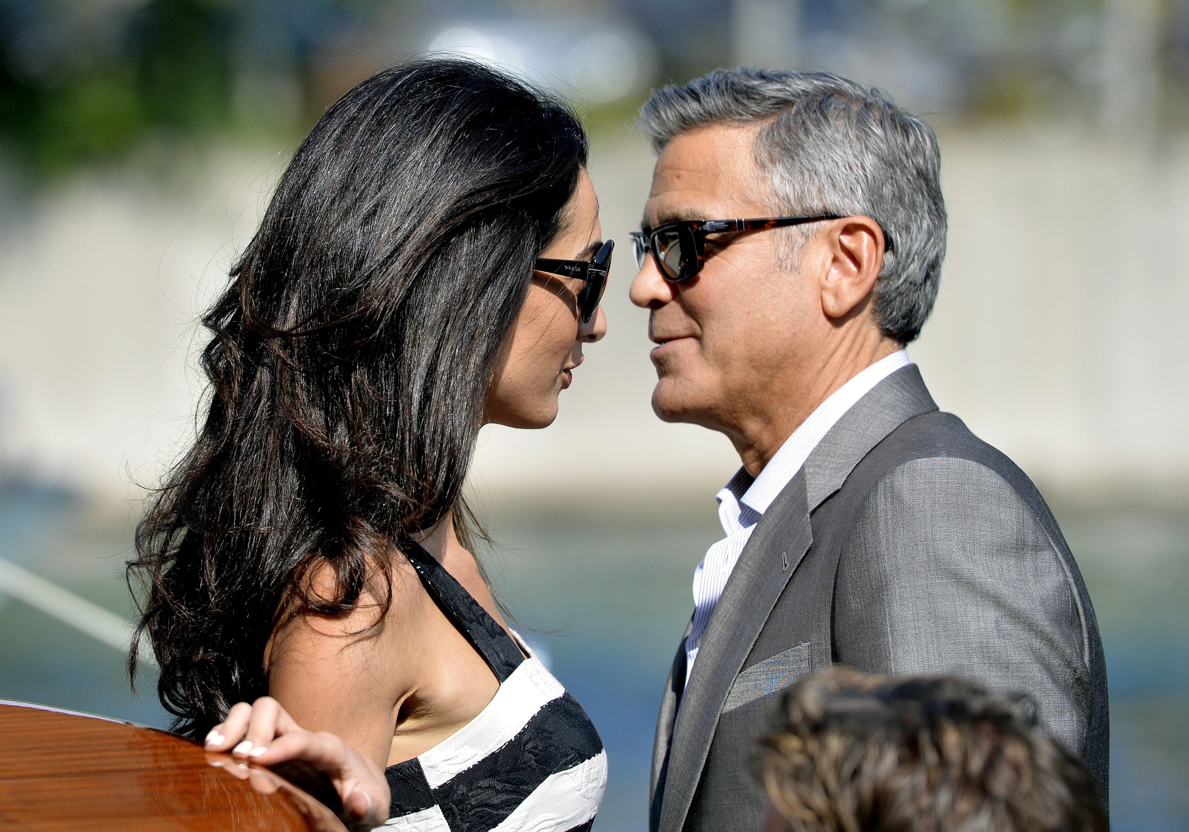 George Clooney´s Hochzeit mit Amal Alamuddin: Die lange Liste seiner Ex-Freundinnen mit FOTOS!
