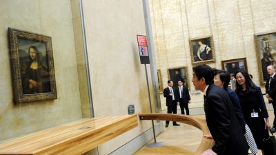 Mona Lisa aus dem Louvre verkaufen? So bankrott ist Frankreich!