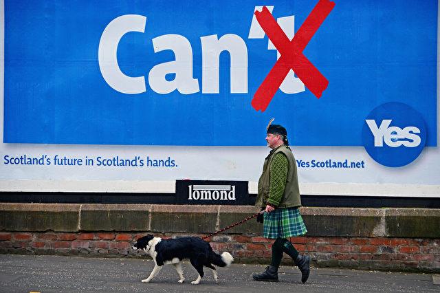 Heute ist das Schottland-Referendum zur Unabhängigkeit von England Foto: Jeff J Mitchell/Getty Images
