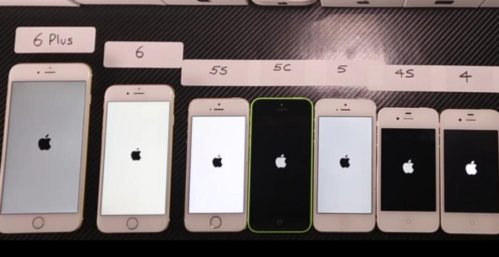 iPhone 6 vs iPhone 5 vs iPhone 6 Plus: Alle Generationen treten gegeneinander an (Video)