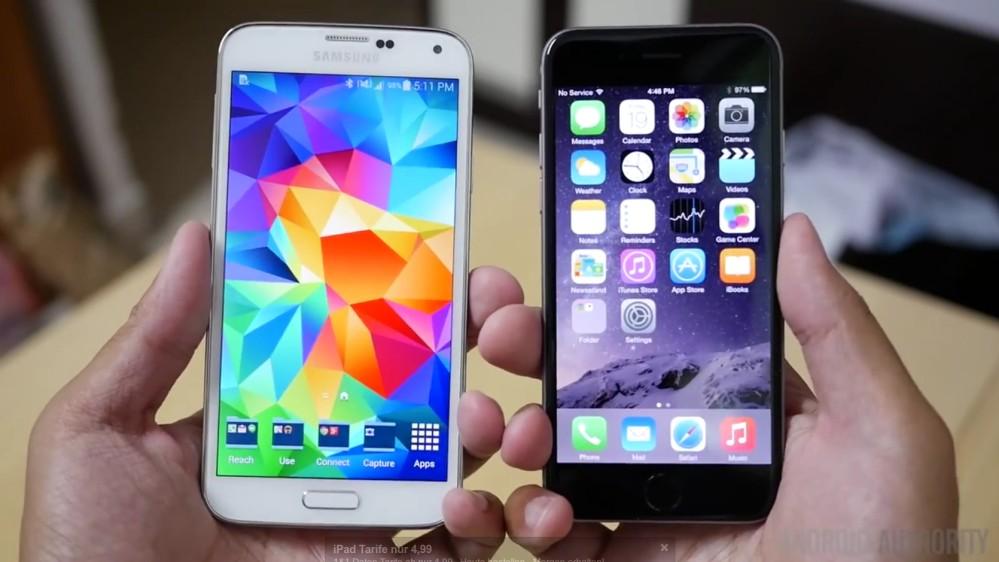 Das iPhone 6 tritt gegen das Galaxy S5 an: Funktionen und technische Daten der Flaggschiffe von Apple und Samsung