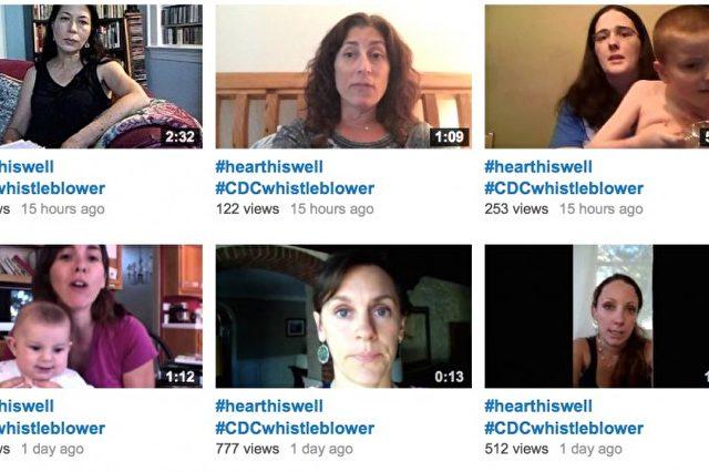 """""""Was mit unseren Kindern gemacht wurde, ist kriminell"""", sagen Eltern, deren Kinder nach einer Impfung autistisch wurden. Foto: Screenshot Youtube / Hear This Well"""