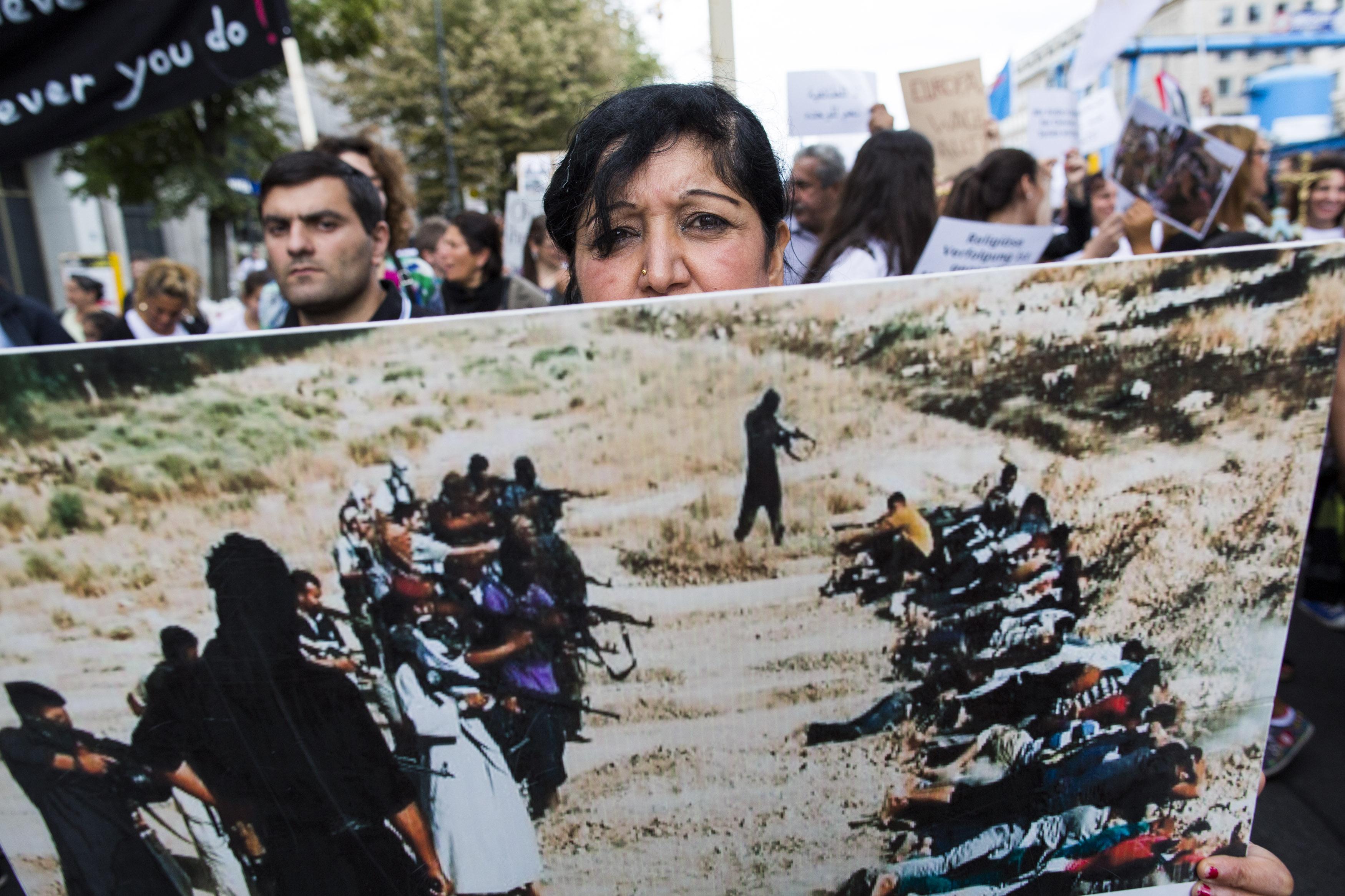 """UN über ISIS-Rekrutierungserfolg: """"Die Menschen schließen sich der Terrormiliz in Scharen an"""""""