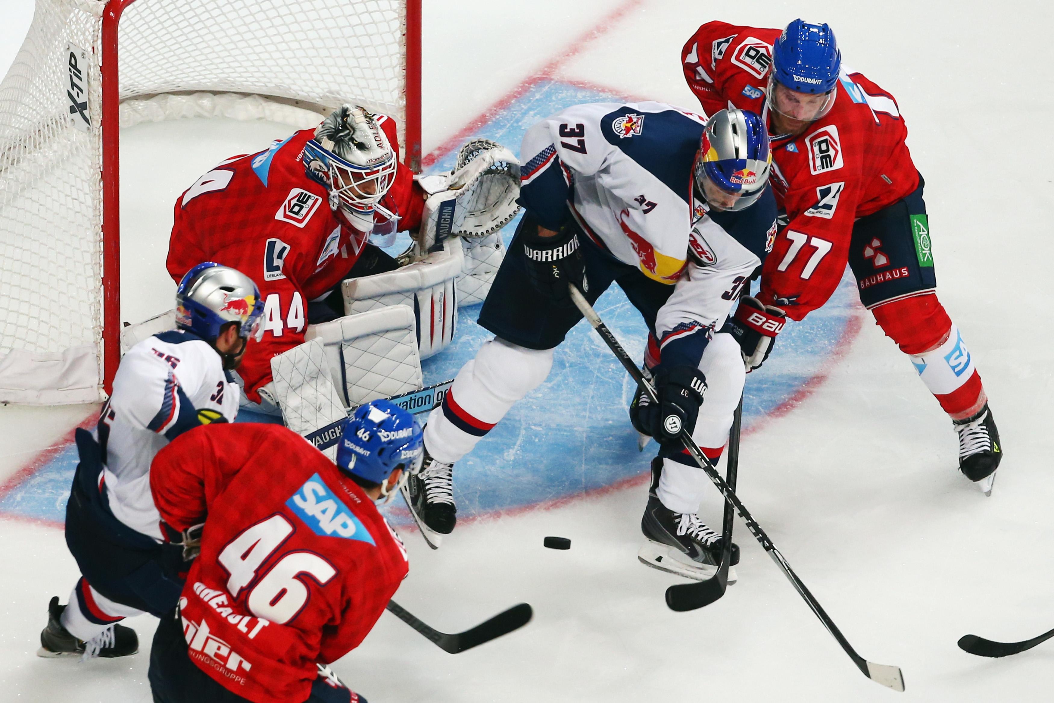 Live-Stream Eishockey Bundesliga 10. Spieltag: Heute Schwenninger Wild Wings vs Adler Mannheim, Live-Übertragung auf Servus TV