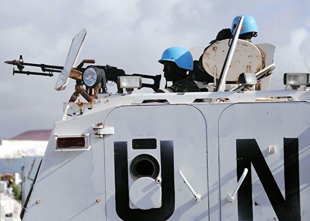 UN-Blauhelme in Somalia Foto: MOHAMED ABDIWAHAB/Getty Images
