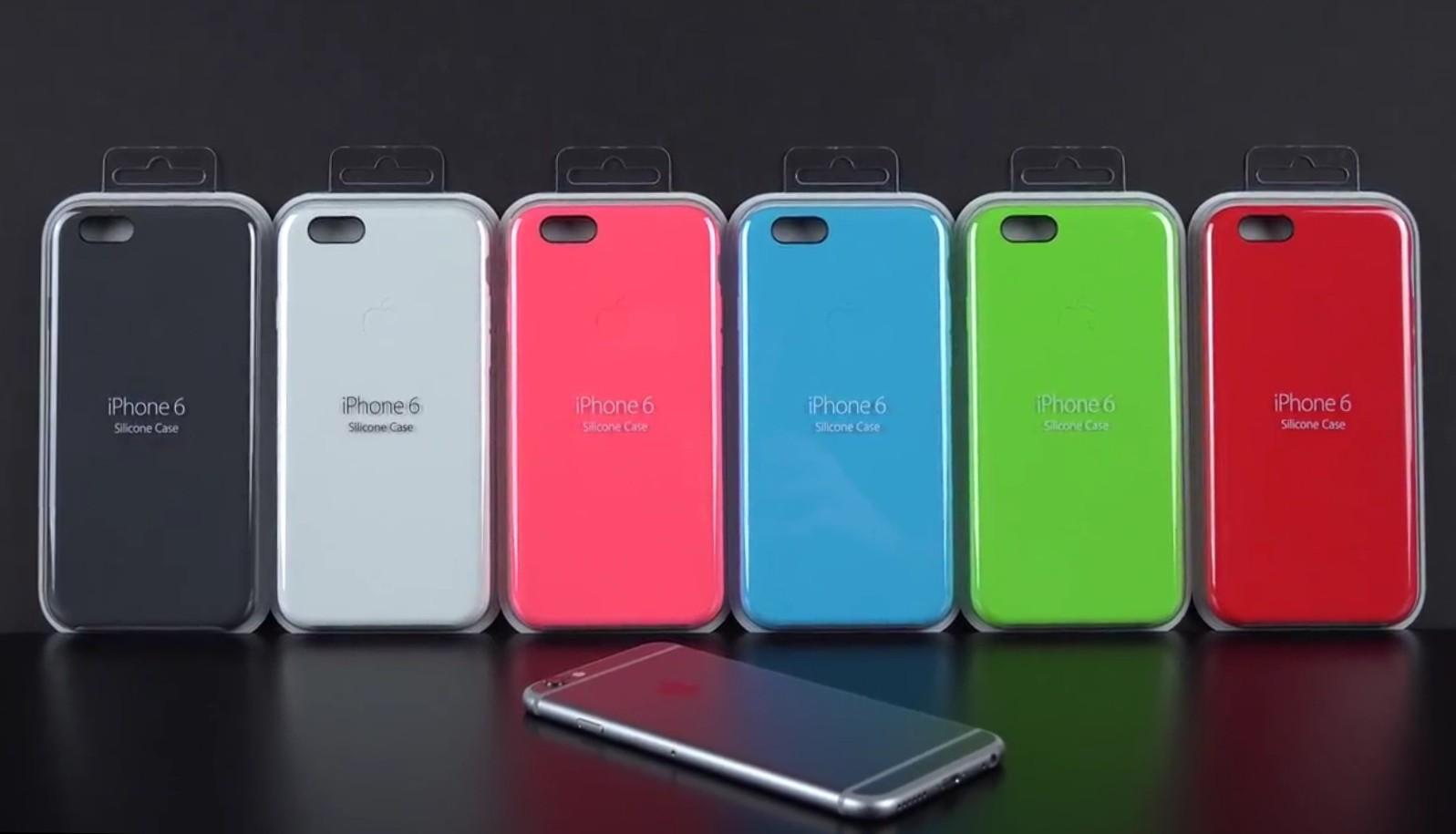 iPhone 6 Plus: Apples Silikon- und Lederschutzhüllen schützten das Gerät perfekt