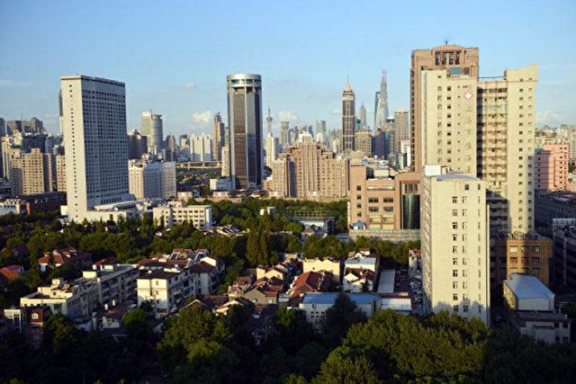Blick über Shanghaier Business und Wohngebäude. Foto: Peter Parks / AFP / Getty Images