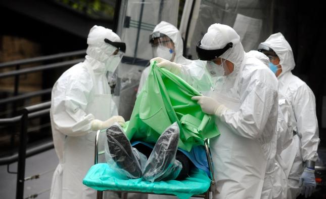 Deutschland laut Innenministerium nur bedingt auf Ebola vorbereitet