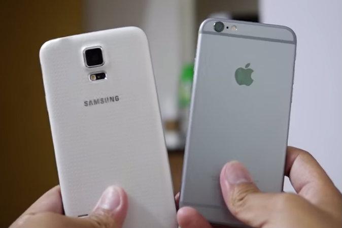 iPhone 6 vs Galaxy S5: Daten, Belastbarkeit und direkter Vergleich (+Video)