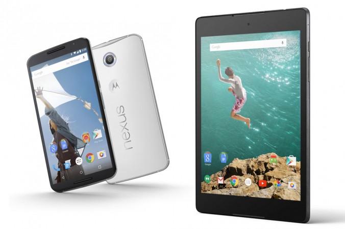 Nexus Mobiltelefons und Tablets: Google im Kampf mit Apple