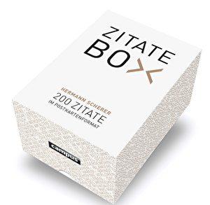 Zitate-Box mit 200 unterschiedlichen Postkarten für 19,99 Euro