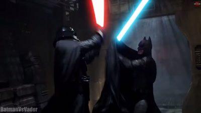 """Batman vs. Darth Vader – Super Power Beat Down"" (Machinima), Clip"