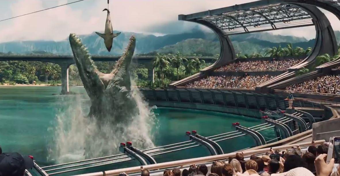 """""""Jurassic World"""" – deutscher Trailer, Regie: Steven Spielberg nach Michael Crichton, Jurassic Park IV"""