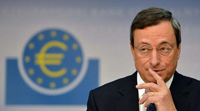 EBZ-Chef Mario Draghi Foto: JOHANNES EISELE/Getty Images