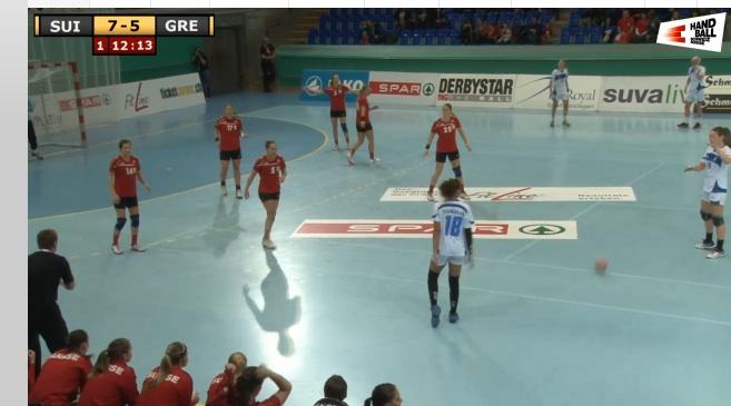 Live-Stream Handball WM Qualifikation Frauen Schweiz vs Griechenland