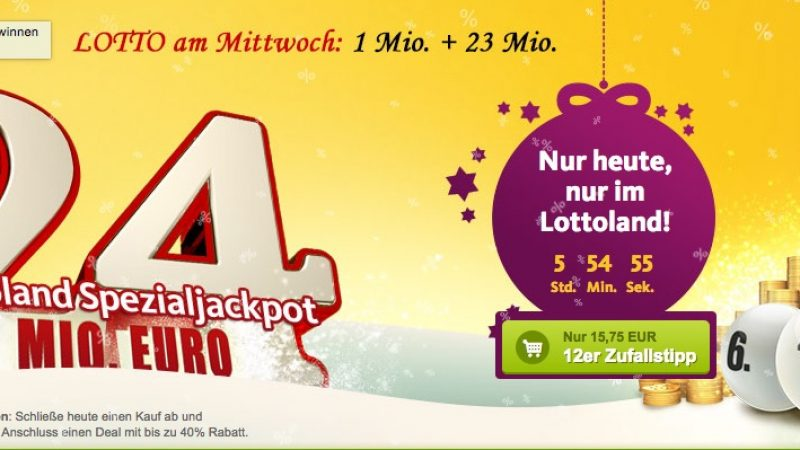 lotto jackpot heute