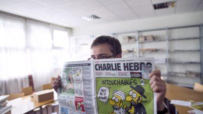 """Zwölf Tote bei Anschlag auf Satire-Blatt """"Charlie Hebdo"""": """"Wir werden den Propheten rächen"""""""