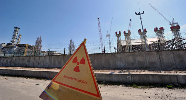 Das Atomkraftwerk Saporoschje bekam Anfang Dezember schon einmal mediale Aufmerksamkeit, aber offiziell hieß es immer, es gäbe kein Problem. Foto: GENYA SAVILOV / AFP / Getty Images