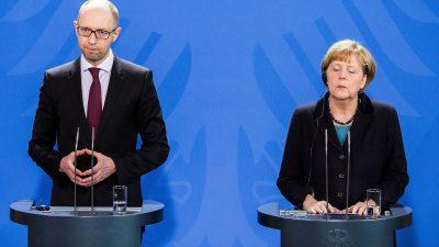 Ukraine-Investoren haben Angst: Trotz massiver Korruption – Angela Merkel genehmigt Milliardenkredit