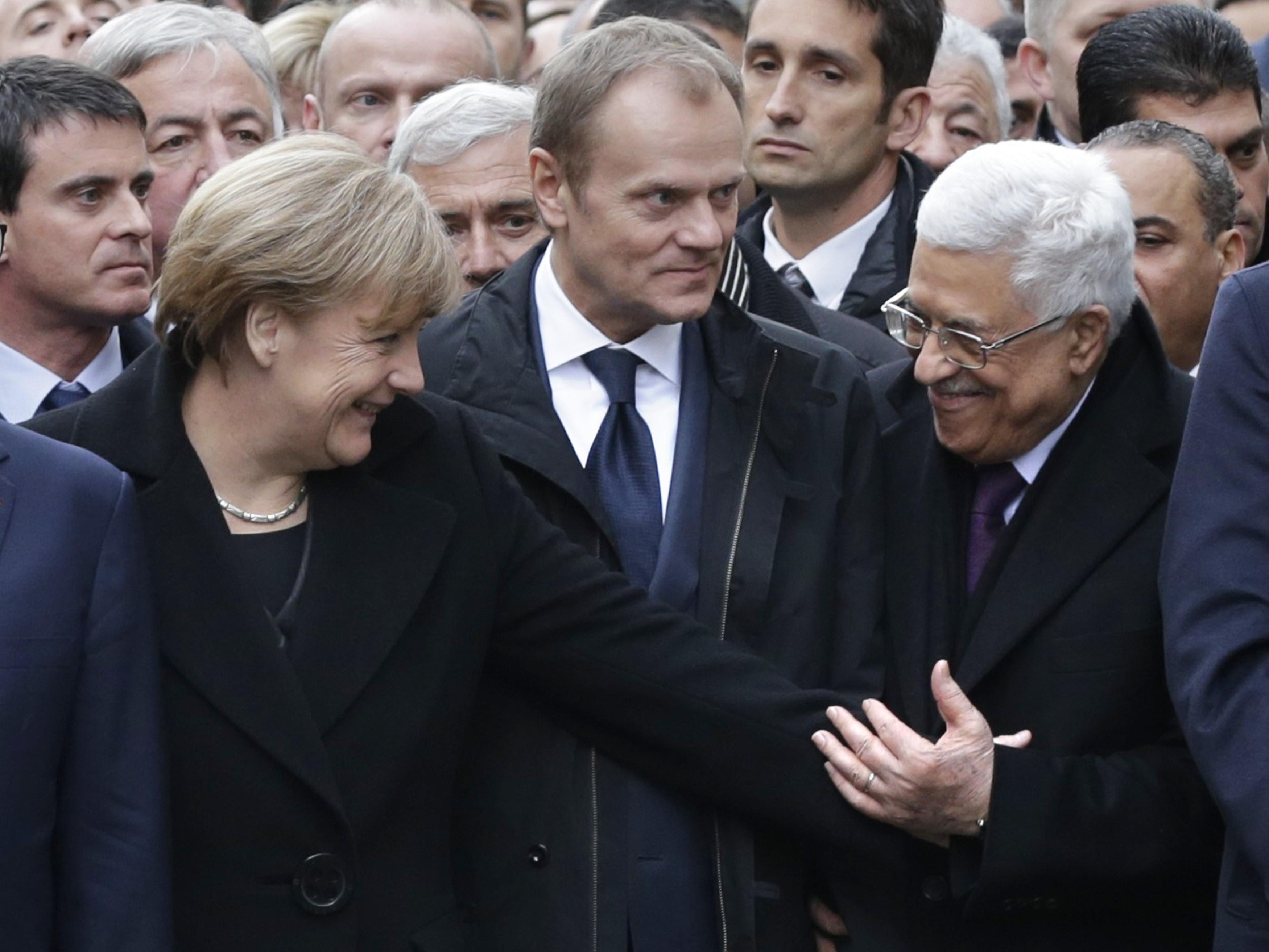"""Kritik an Charlie Hebdo-Gedenkmarsch in Paris: """"Die Heuchlerparade von Paris"""""""