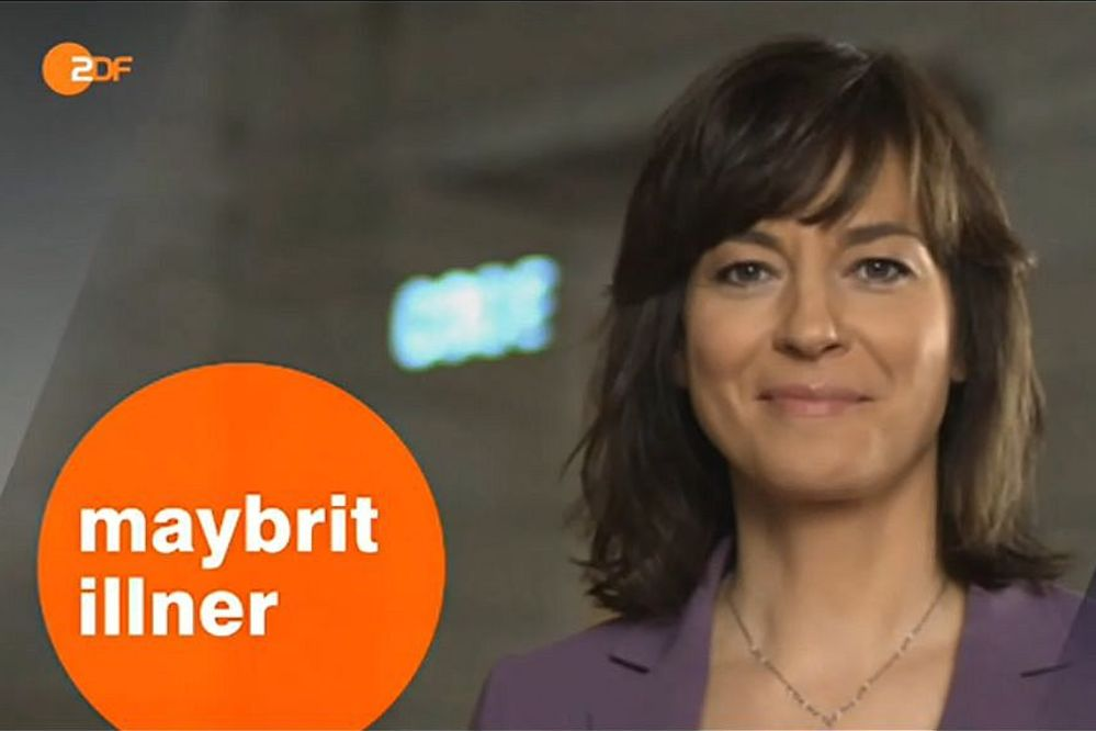 """Maybrit Illner mit Gysi und Schäffler heute """"Scheitert Merkel, scheitert der Euro?"""" im ZDF Live-Stream Do., 29. 01. 2015 um 22:15 Uhr + Free-TV + Mediathek"""
