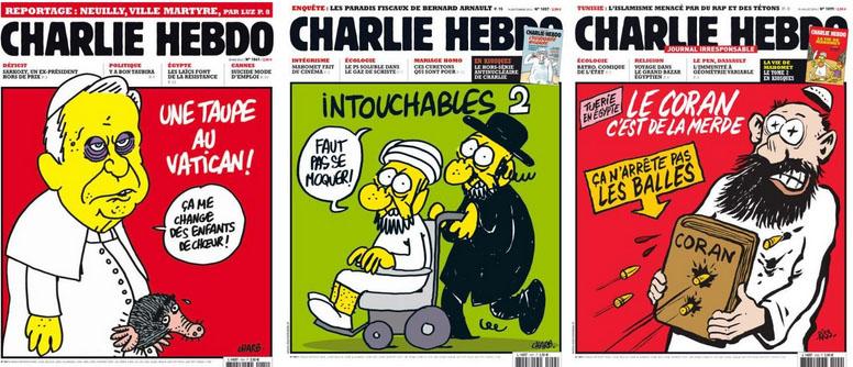 """""""Charlie Hebdo""""-Zeichner: """"Wir kotzen auf all die Leute, die sich plötzlich unsere Freunde nennen"""""""