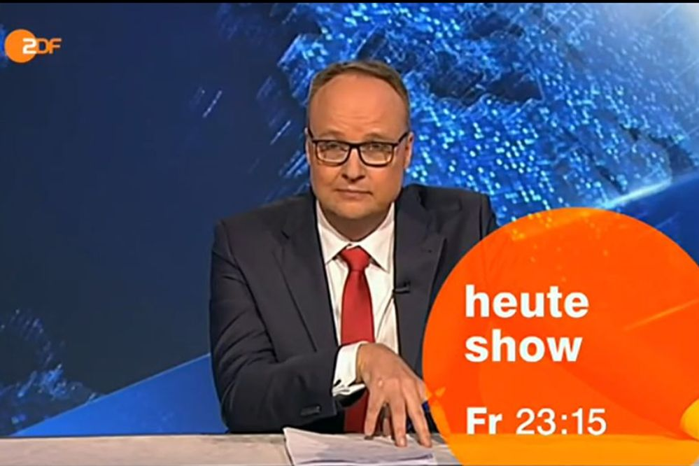 """heute-show  Live-Stream """"Das reinigt """" mit Oliver Welke im ZDF heute 30.1. 23:15 + online + Free-TV +  mediathek"""