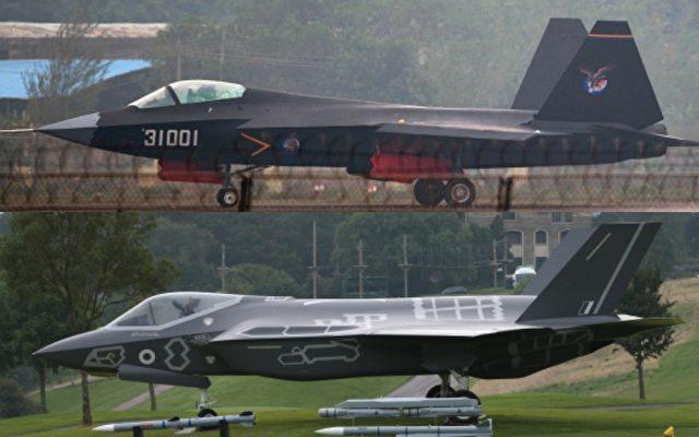 Duell der Jets: China J-31 vs. USA F-35 - Wieder alles nur ...