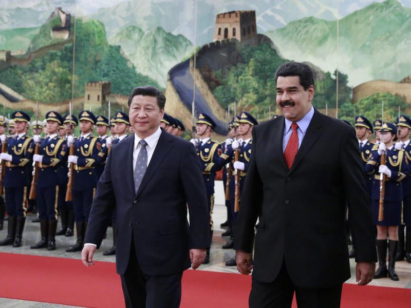 """""""Venezuela hat alle Ölvorkommen, die China braucht"""": KP-China steht fest an der Seite des Maduro-Regimes"""