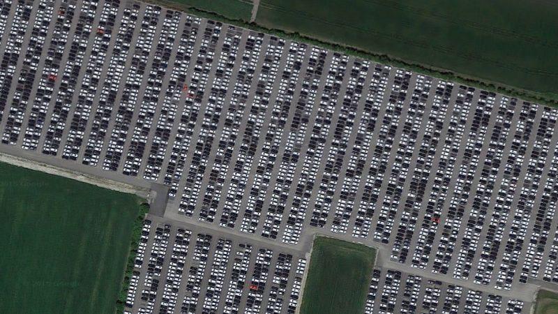 Autofriedhof Neuwagen