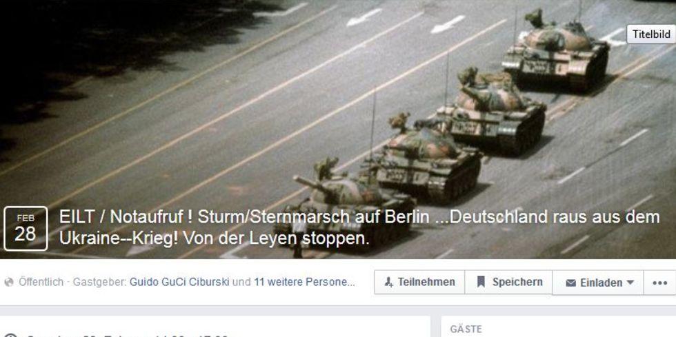Friedensdemo in Berlin findet heute trotz Facebook-Zensur statt