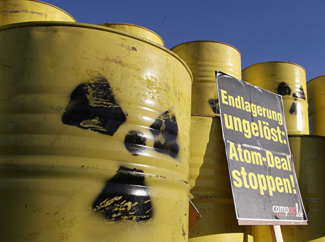 Anti-Atomkraft Protest Foto: Andreas Rentz/Getty Images