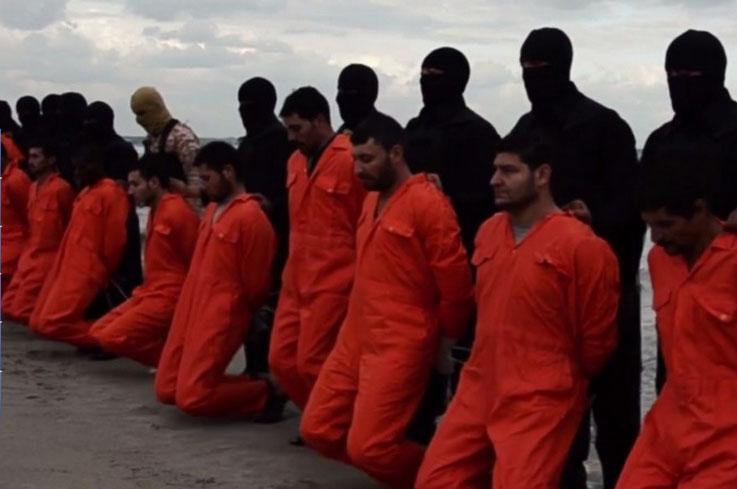 IS-Enthauptungsvideo zeigt: 21 ägyptische Christen an libyschem Strand enthauptet (+ Fotos)
