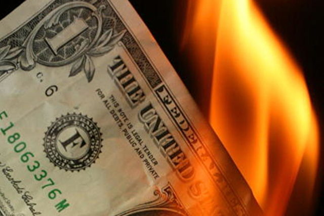 Will die Welt will den Dollar nicht mehr?  Foto: Christopher Furlong / Getty Images