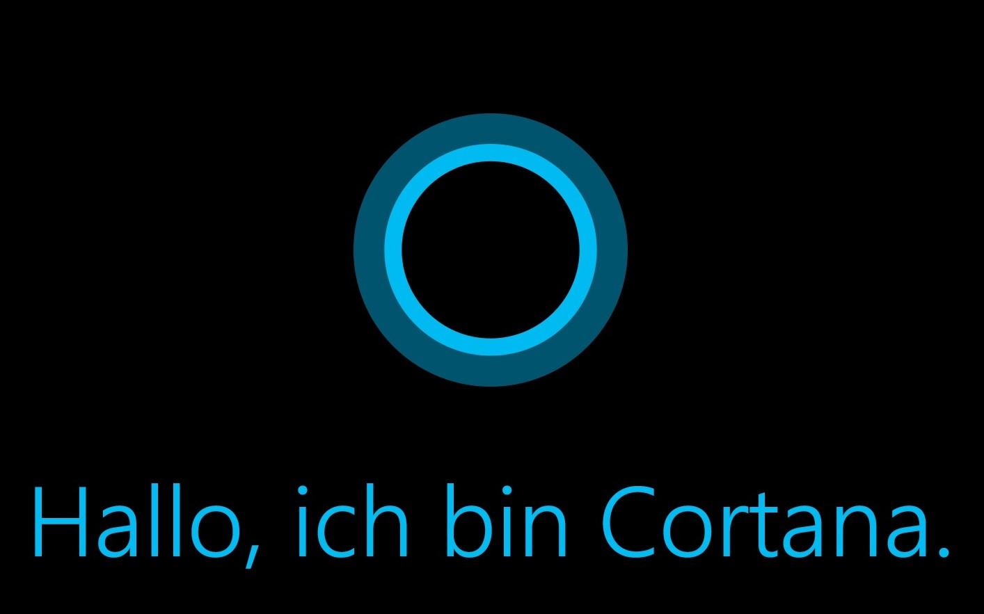 Cortana für Microsoft Phone ist wie Google Now mit KI ausgestattet