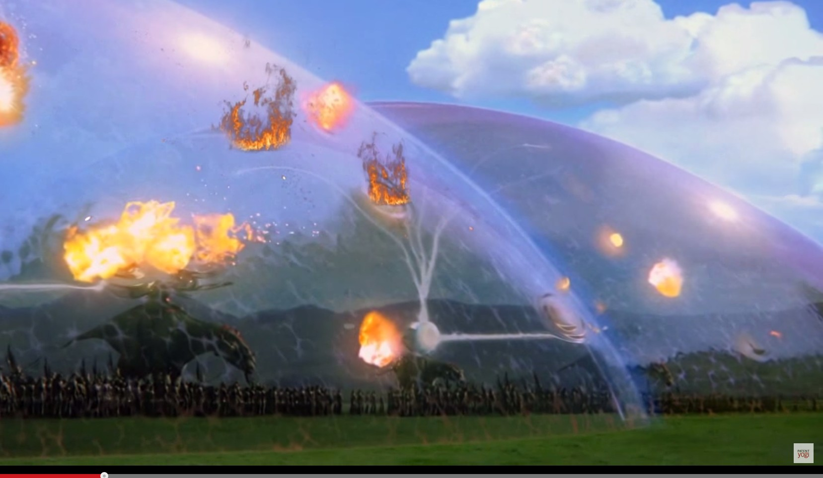 Boing Patent: Neue Kraftfeld-Technologie bietet Explosionsschutz