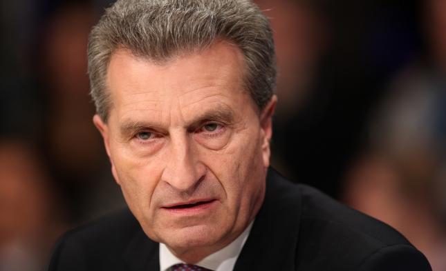 Oettinger will Urheberschutz in EU auf hohem Niveau vereinheitlichen
