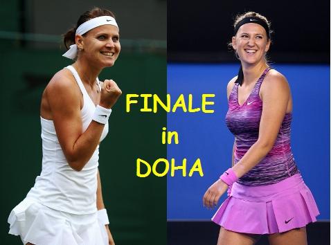 FINALE: Lucie Safarova vs. Victoria Azarenka