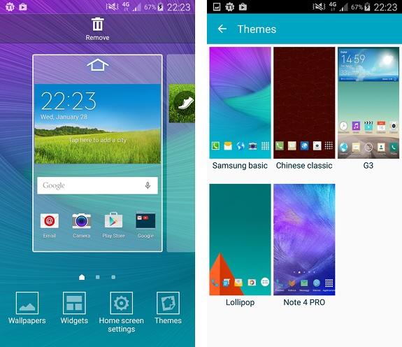 """Galaxy 6 Desins, Themes, Motive: Jetzt """"TouchWiz Themes"""" vom Galaxy S6 herunterladen"""