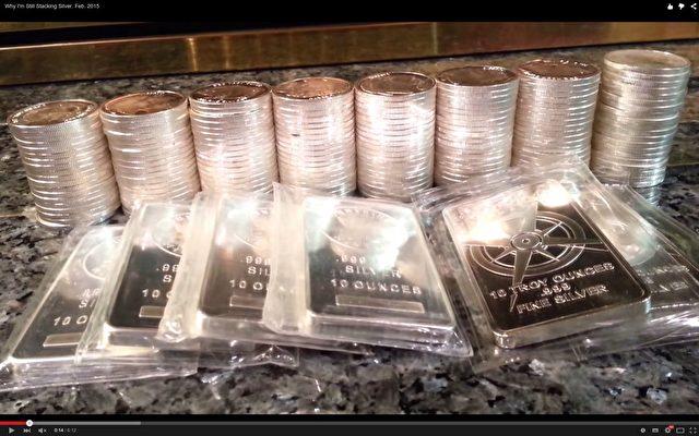 JP Morgan hat in den vergangenen Wochen seine Silbervorräte dramatisch aufgestockt und seinen Kunden gleichzeitig Bargeld und Münz-Lagerung in Schließfächern verboten. Foto: Screenshot von Youtube SecretSilverStacker