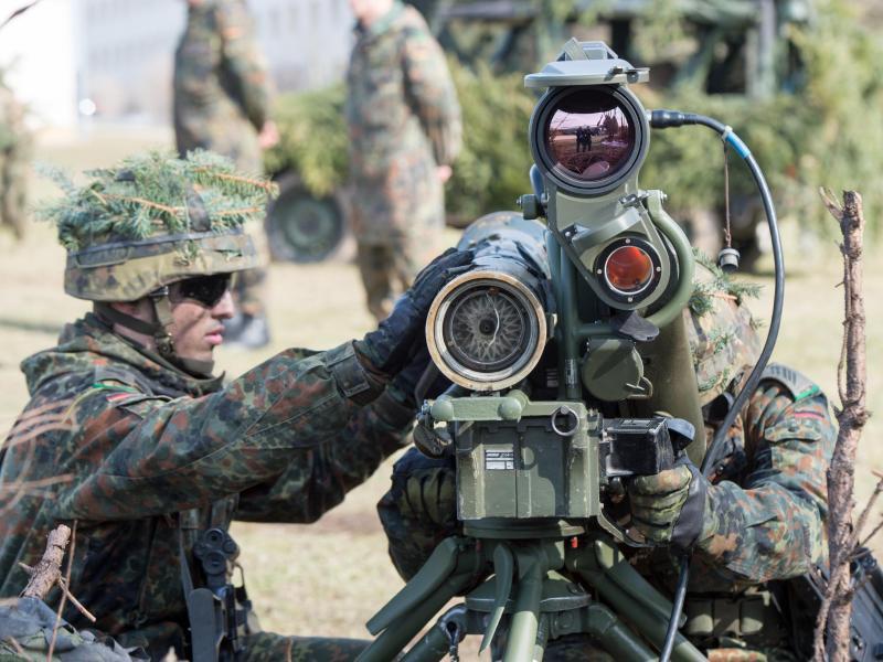 Nato informiert über erste große Speerspitzen-Übung